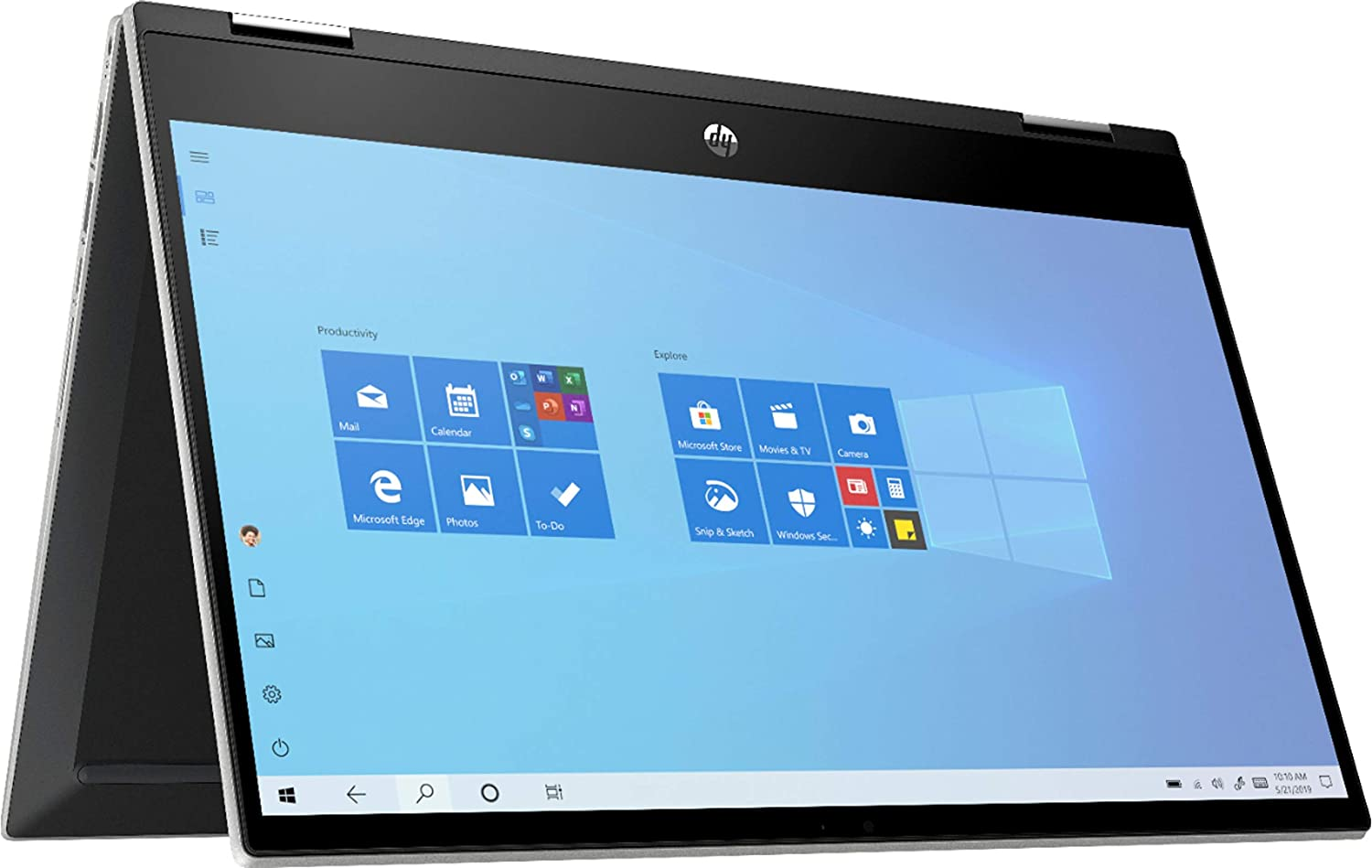 HP 2020 Newest Pavilion X360 2-in-1 Convertible 14 HD Touch-Screen Laptop
